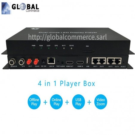 Huidu 2nd generation Dual-mode player HD A4/A5/A6