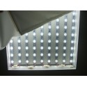 backlight led curtain Wide Angle 160 tv lens CRI>80 LED Direct-lit light bar for lightbox