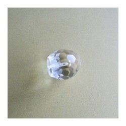 Acrylic crystal end fitting for fiber optic