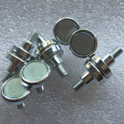 Magnets for outdoor modules