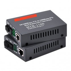 Netlink HTB-1100s Single Mode Fiber Media Converter 10/100m