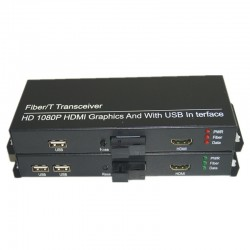 High Quality HD 1080P HDMI Extender Media Converters with 2 KVM USB2.0