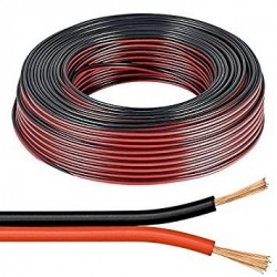 Speaker Cable 2x0,5 Red/ Black 100% Pure Copper