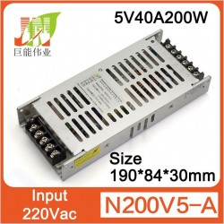 POWER SUPPLY 5V40A